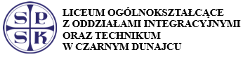 Liceum Ogólnokształcące z Oddziałami Integracyjnymi oraz technikum SPSK w Czarnym Dunajcu